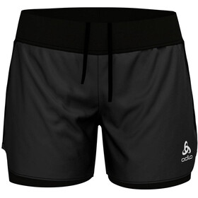 Odlo Zeroweight Ceramicool Ligh 2-in-1 Shorts Women black